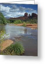 Red Rock Crossing In Sedona, Arizona Greeting Card by David Edwards