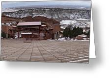 Red Rocks Amphitheatre Greeting Card by Bill Kennedy