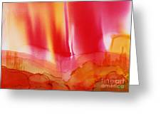 Red Sky over Bryce Greeting Card by Joyce Auteri