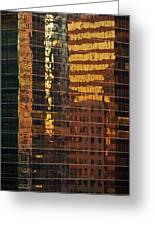 Reflecting Chicago Greeting Card by Steve Gadomski