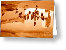 Reflection Greeting Card by Gregory Dyer