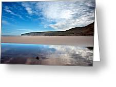 Reflection Greeting Card by Svetlana Sewell