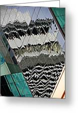 Reflections At Niagara Greeting Card by Elizabeth Hoskinson