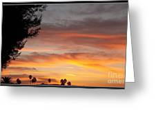 Reflections At The Close Of Day Greeting Card by Glenn McCarthy Art and Photography