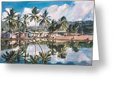 Reflections  Greeting Card by Gregory Jules