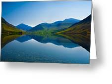 Reflections Greeting Card by Svetlana Sewell