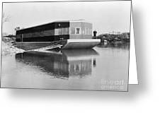 REFRIGERATED BARGE, c1935 Greeting Card by Granger