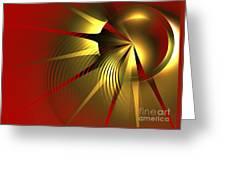 Regal Greeting Card by Kim Sy Ok