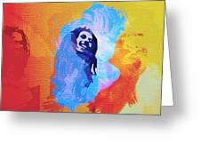 Reggae Kings Greeting Card by Naxart Studio