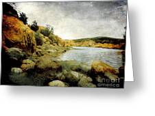 Rembrandt Colors Greeting Card by Arne Hansen