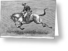 Remington: 10th Cavalry Greeting Card by Granger