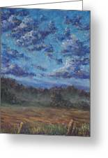 Remnants Of An Early Morning Storm Greeting Card by Erica Keener