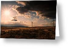 Renewable Energy Greeting Card by Dan Mihai
