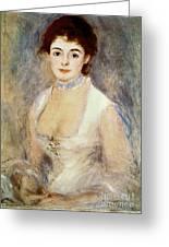 Renoir: Madame Henriot Greeting Card by Granger