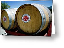 Renyolds Barrels Greeting Card by Jeff Wilson