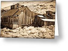 Residence At The Old Mill Greeting Card by Levin Rodriguez
