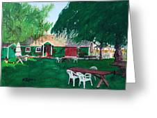 Retzlaff Winery Greeting Card by Mike Robles