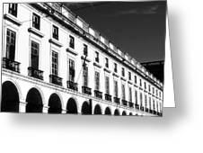 Ribeira Palace Greeting Card by John Rizzuto