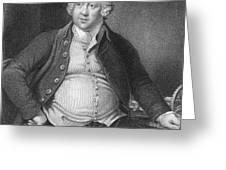 Richard Arkwright, English Industrialist Greeting Card by Photo Researchers