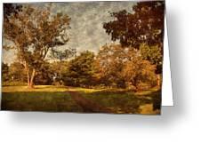 Ridge Walk - Holmdel Park Greeting Card by Angie Tirado
