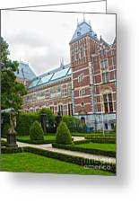 Rijksmuseum- 02 Greeting Card by Gregory Dyer
