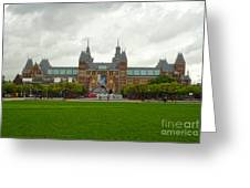 Rijksmuseum- 04 Greeting Card by Gregory Dyer