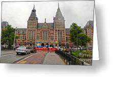 Rijksmuseum- 06 Greeting Card by Gregory Dyer