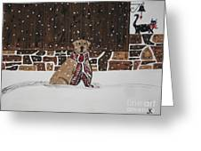 Ring The Dinner Bell Greeting Card by Jeffrey Koss