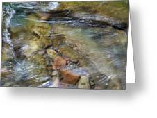River Rocks Greeting Card by Jenna Szerlag