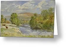 River Spey - Kinrara Greeting Card by Tim Scott Bolton