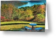River View IV Greeting Card by Steven Ainsworth
