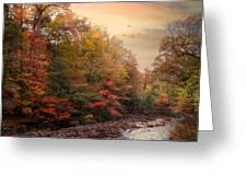 Riverbank Beauty Greeting Card by Jessica Jenney