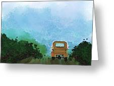 Road Greeting Card by Mickey Harris