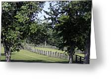 Road To Lynchburg Virginia Greeting Card by Teresa Mucha