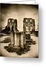 Roche Abbey Greeting Card by Simon Marsden