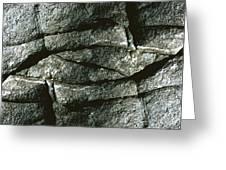 Rock Eye Of Ogunquit Greeting Card by Nancy Griswold