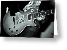 Rock On Greeting Card by Kamil Swiatek