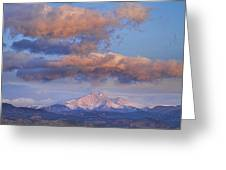 Rocky Mountain Sunrise Greeting Card by James BO  Insogna