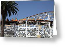 Roller Coaster - 5d17608 Greeting Card by Wingsdomain Art and Photography