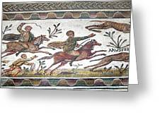 Roman Mosaic Greeting Card by Sheila Terry
