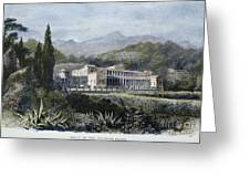 Roman Villa Greeting Card by Granger