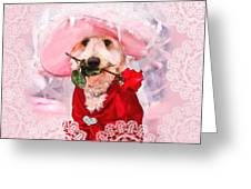 Romantic Kati Greeting Card by Trudy Wilkerson