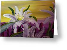 Romantic Spring Greeting Card by Mark Moore