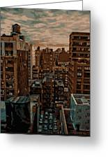 Rooftop Color 16 Greeting Card by Scott Kelley