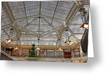 Rookery Ceiling Greeting Card by David Bearden