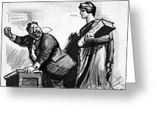 Roosevelt Cartoon, C1916 Greeting Card by Granger