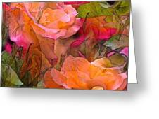 Rose 146 Greeting Card by Pamela Cooper