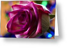 Rose Celebration Greeting Card by Bill Tiepelman