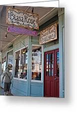 Rose's Closet - Paia Greeting Card by Paulette B Wright