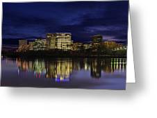 Rosslyn Skyline Greeting Card by Metro DC Photography